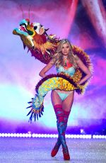 ELSA HOSK at Victoria's Secret Fashion Show 2016