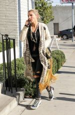 ELSA PATAKY Out for Lunch in West Hollywood 12/20/2016