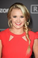 EMILY OSMENT at Rogue One: A Star Wars Story Premiere in Hollywood 12/10/2016