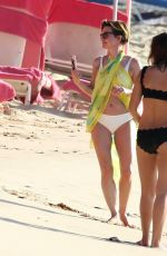 EMMA FORBES in Bikini at a Beach in Barbados 12/29/2016