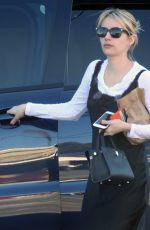 EMMA ROBERTS Out Shopping in Los Angeles 12/20/2016