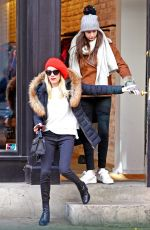 EMMA ROBERTS Out Shopping in New York 12/09/2016
