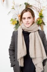 EMMA WATSON at Domino Magazine Holiday Pop Up in New York 12/01/2016