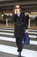 EMMY ROSSUM at LAX Airport in Los Angeles 12/07/2016