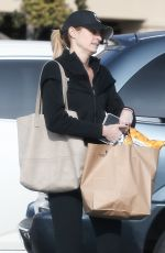 ERIN ANDREWS Out Shopping in Beverly Hills 12/13/2016