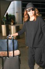 EVA LONGORIA at LAX Airport in Los Angeles 12/16/2016