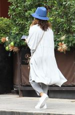 EVA LONGORIA Leaves Anastasia Beverly Hills 12/06/2016