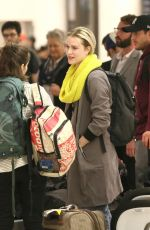 EVAN RACHEL WOOD at Los Angeles International Airport 12/29/2016