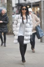 FARAH SATTUR Out for Shopping in London 12/23/2016
