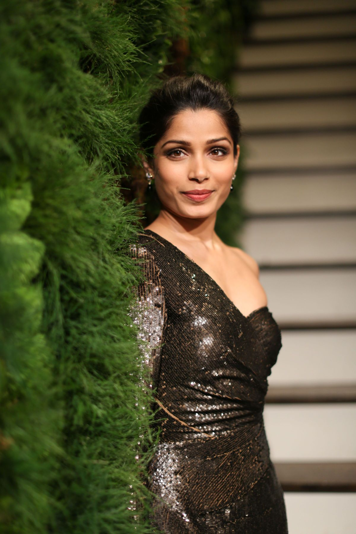 FREIDA PINTO at John Hardy Artisan in Residence Launch in New York 12 ... Freida Pinto