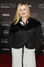 GEENA DAVIS at Rogue One: A Star Wars Story Premiere in Hollywood 12/10/2016