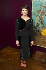 GEMMA ARTERTON at St Joan Play After Party in London 12/19/2016