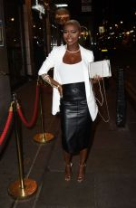 GIFTY LOUISE Arrives at Dstrkt 5th Anniversary Party in London 12/20/2016