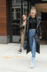 GIGI HADID Leaves Her Apartment in New York 12/08/2016