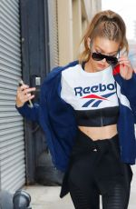 GIGI HADID Out and About in New York 12/07/2016