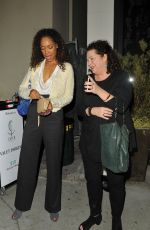 GINA TORRES at Catch LA in West Hollywood 12/28/2016