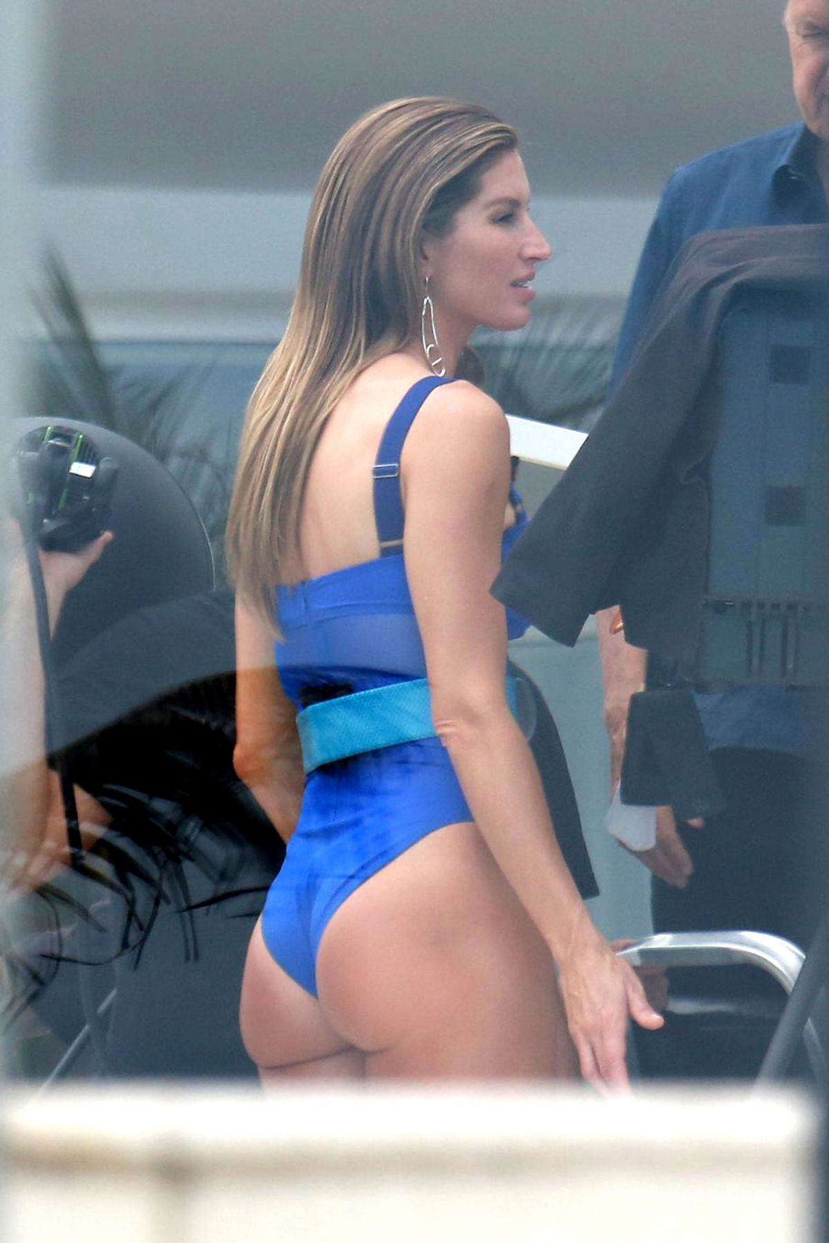 GISELE BUNDCHEN in Swimsuit on the Set of a Photoshoot in Rio De Janeiro 12/17/2016