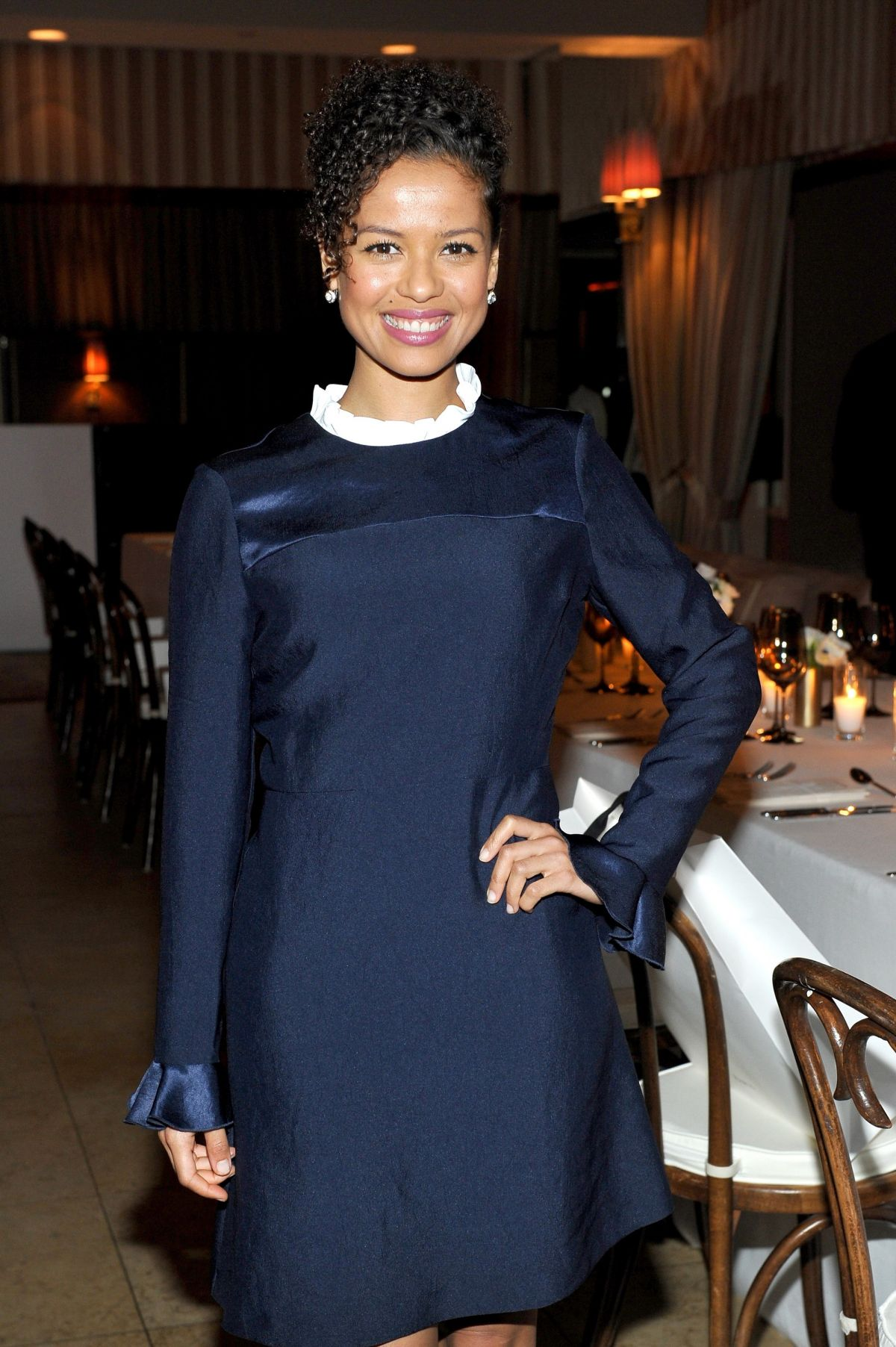 GUGU MBATHA-RAW at a Dinner at Sunset Tower Hotel in West Hollywood 12/07/2016