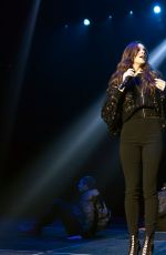 HAILEE STEINFELD Performs at Kiss 95.1 Kissmas Concert at Spectrum Center in Charlotte 12/13/2016