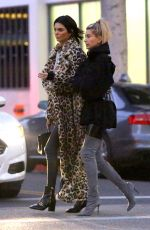 HAILEY BALDWIN and KENDALL JENNER Out in Beverly Hills 12/07/2016