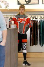 HAILEY BALDWIN Shopping in Beverly Hills 12/07/2016