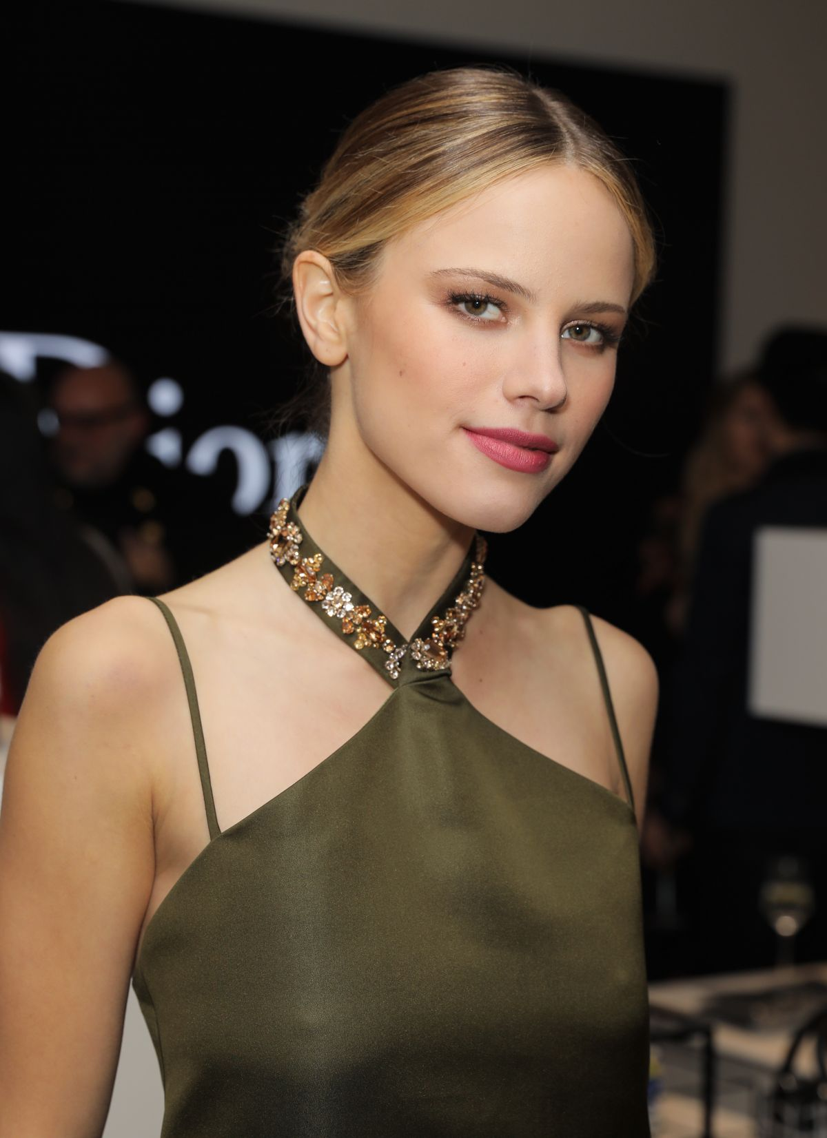HALSTON SAGE at Dior Lady Art Pop Up Boutique Opening in Los Angeles 12/06/2016