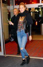 HEIDI KLUM Leaves JFK Airport in New York 12/11/2016
