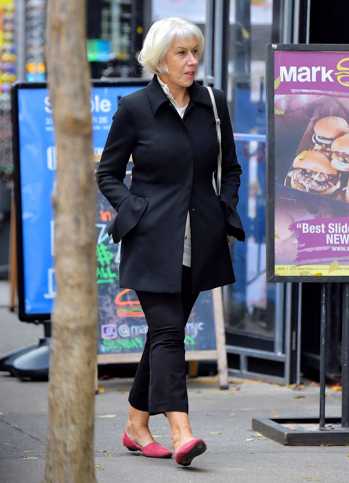 HELEN MIRREN Out and About in New York 12/01/2016