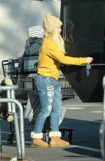 HILARY DUFF Out for Shopping in Los Angeles 12/21/2016