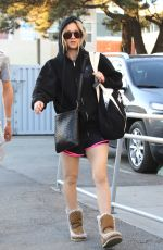 KALEY CUOCO Heading to a Pilates Class in Studio City 12/18/2016