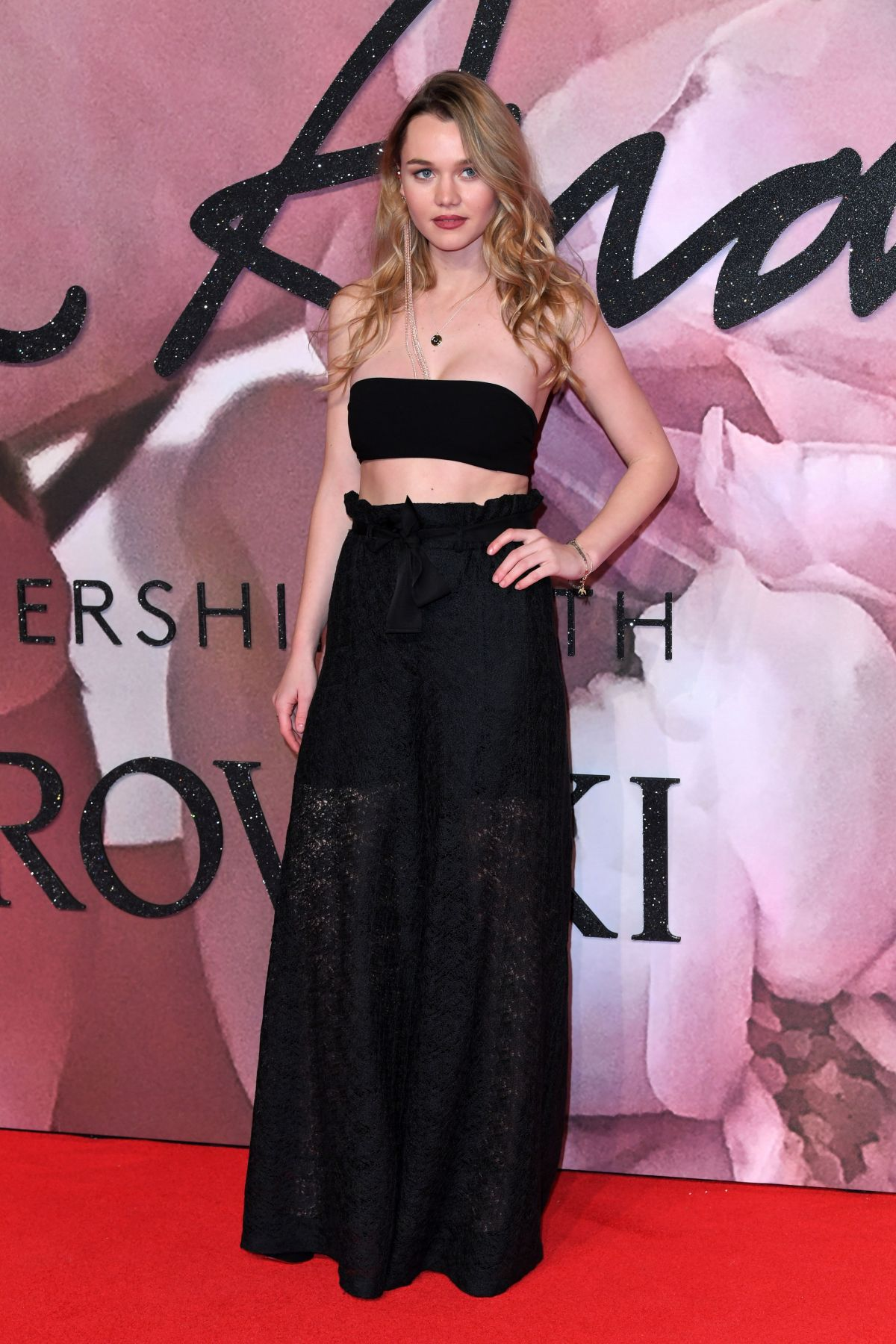 IMMY WATERHOUSE at Fashion Awards in London 12/05/2016