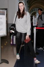 IRELAND BALDWIN at LAX Airport in Los Angeles 12/17/2016