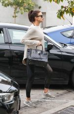 IRINA SHAYK Arrives at a Gym in West Hollywood 12/15/2016