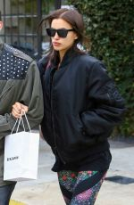 IRINA SHAYK Out and About in Beverly Hills 12/23/2016