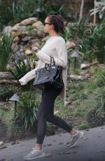 IRINA SHAYK Out and About in Los Angeles 12/15/2016