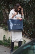 IRINA SHAYK Out and About in Los Angeles 12/21/2016