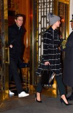 IVANKA TRUMP Out and About in New York 12/19/2016