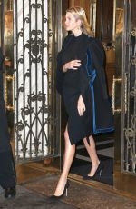 IVANKA TRUMP Out in New York 12/12/2016