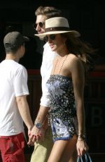 IZABEL GOULART Out and About in St. Barts 12/23/2016