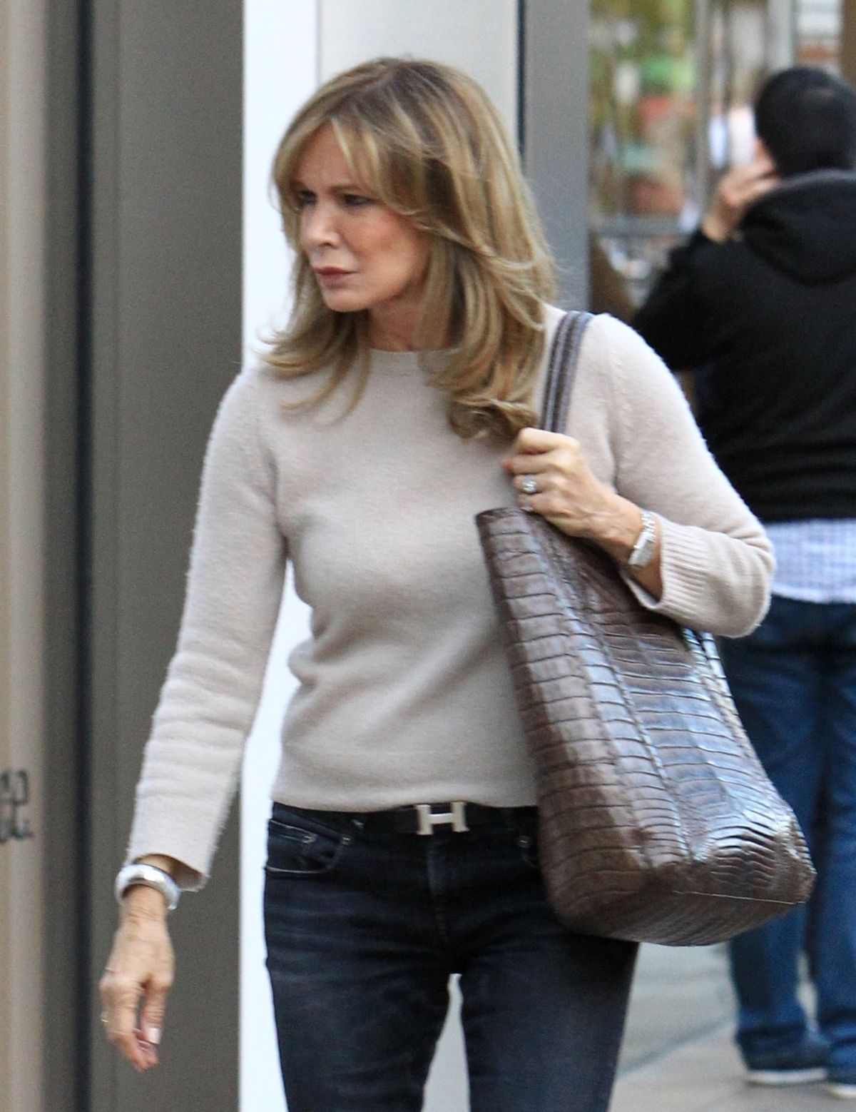 JACLYN SMITH Out for Shopping in Hollywood 12/16/2016