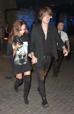 JADE THIRLWALL Celebrates Her 24th Birthday with Jed Elliot in Newcastle 12/26/2016