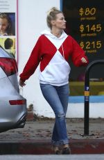 JANUARY JONES Out and About in Studio City 12/11/2016