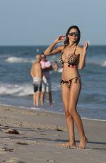 JASMINE TOSH in Bikini at a Beach in Miami 12/18/2016