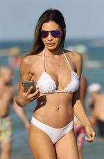 JASMINE TOSH in Bikini at a Beach in Miami 12/28/2016