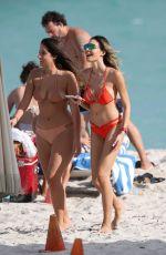 JASMINE TOSH in Bikini on the Beach Beach in Miami 12/18/2016