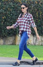 JENNIFER GARNER in Jeans Out in Los Angeles 12/14/2016