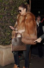 JENNIFER LOPEZ Leaves a Dinner in West Hollywood 12/22/2016