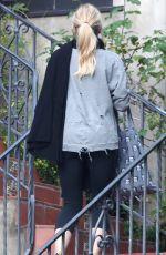 JENNIFER MORRISON in Leggings Out in Los Angeles 12/23/2016