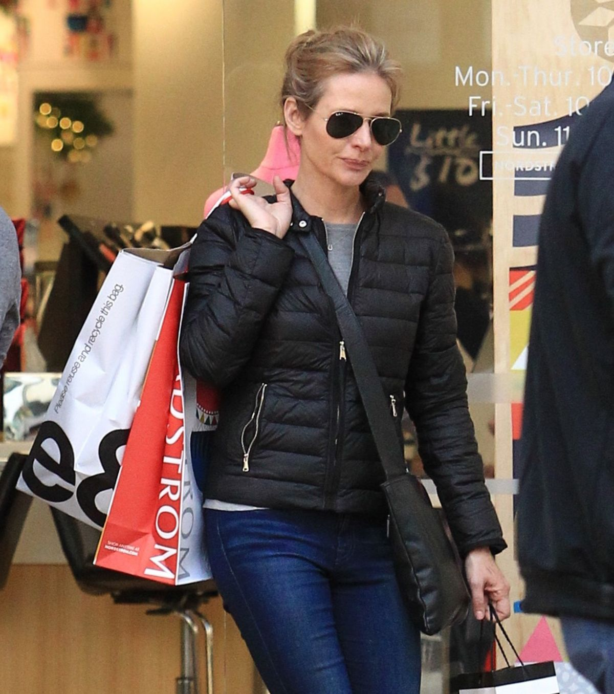 JESSALYN GILSIG Out for Shopping in Los Angeles 12/22/2016