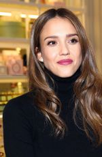 JESSICA ALBA at Laduree Store Opening at The Grove in Los Angeles 12/20/2016